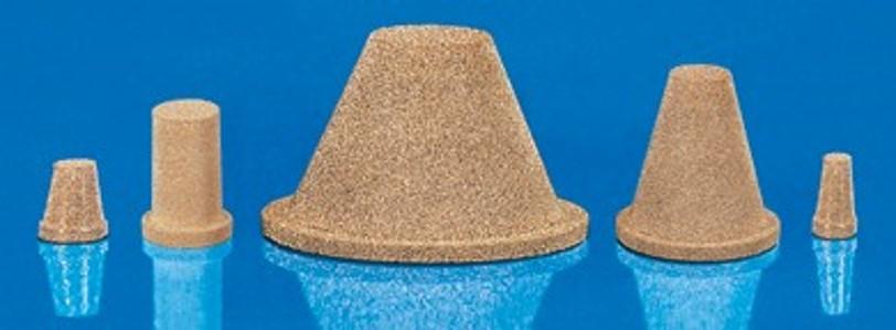 Coniques bronze avec ou sans brides poreuses - SIKA-B