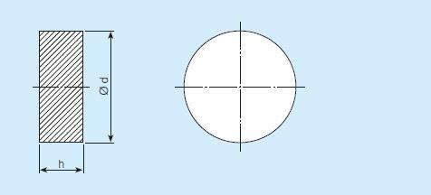SIKA-B-Disque Bronze poreux